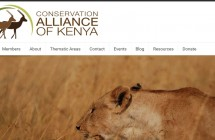 Conservation_Alliance_of_Kenya_Homepage